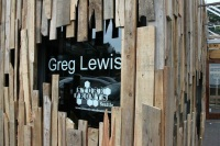 Greg Lewis detail sign